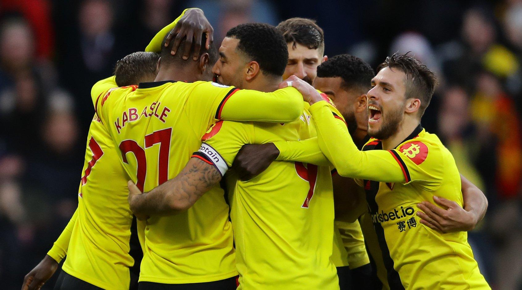 Watford scored a goal